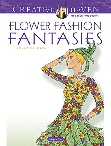 9780486498638: Flower Fashion Fantasies