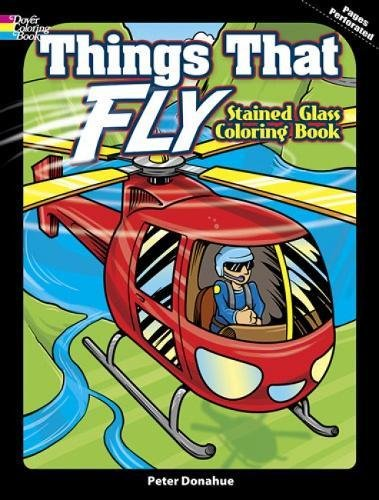 9780486498669: Things That Fly Stained Glass
