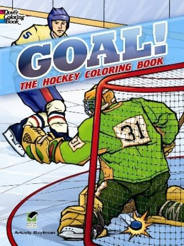 9780486498898: GOAL! The Hockey Coloring Book (Dover Coloring Books)