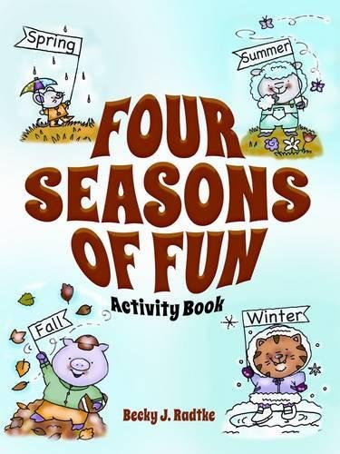 9780486498942: Four Seasons of Fun Activity Book (Dover Fun and Games for Children)