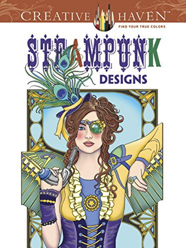 9780486499192: Creative Haven Steampunk Designs Coloring Book (Adult Coloring)
