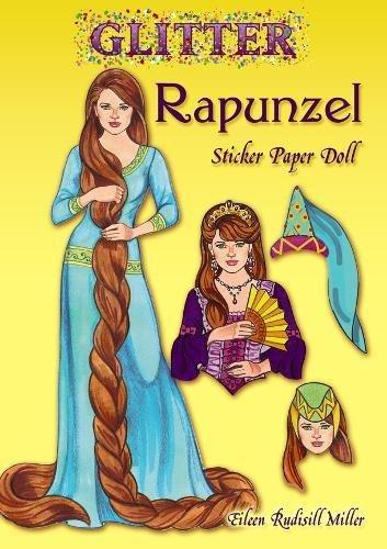 9780486499482: Glitter Rapunzel Sticker Paper Doll (Dover Little Activity Books Paper Dolls)