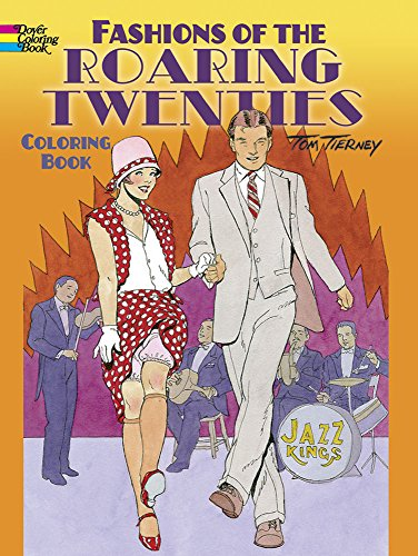 9780486499505: Fashions of the Roaring Twenties Coloring Book (Dover Coloring Books)