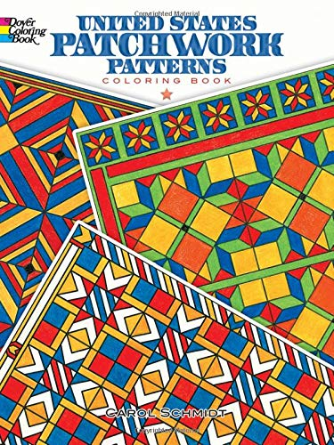 9780486499642: United States Patchwork Patterns Coloring Book (Dover Design Coloring Books)