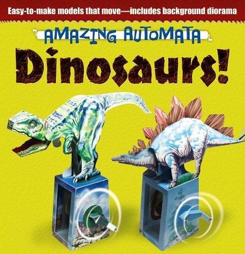 9780486499819: Amazing Automata -- Dinosaurs! (Dover Origami Papercraft)