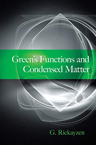 9780486499840: Green's Functions and Condensed Matter (Dover Books on Physics)