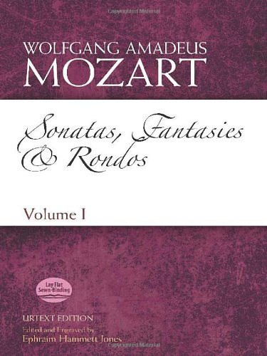 9780486499956: Sonatas, Fantasies and Rondos Urtext Edition: Volume I (Dover Classical Music for Keyboard and Piano Four Hands)