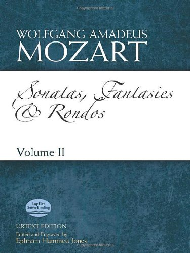 9780486499963: Sonatas, Fantasies and Rondos Urtext Edition: Volume II (Dover Classical Music for Keyboard and Piano Four Hands)