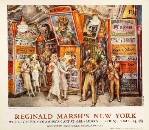 9780486592213: Reginald Marsh Poster (Dover Posters)