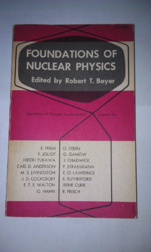 9780486600192: Foundations of Nuclear Physics