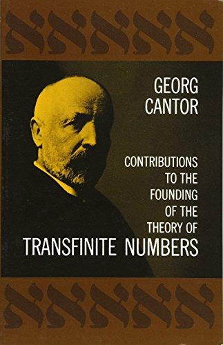 9780486600451: Contributions to the Founding of the Theory of Transfinite Numbers (Dover Books on Mathematics)