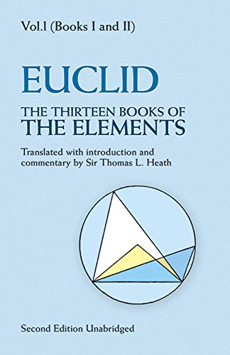 9780486600888: The Thirteen Books of the Elements, Vol. 1: Books 1-2