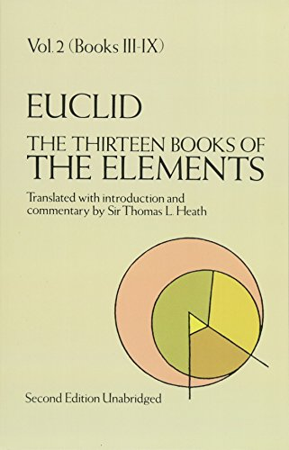 9780486600895: The Thirteen Books of the Elements, Vol. 2: Books 3-9