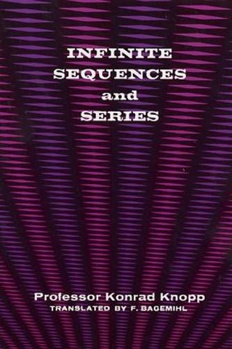 9780486601533: Infinite Sequences and Series
