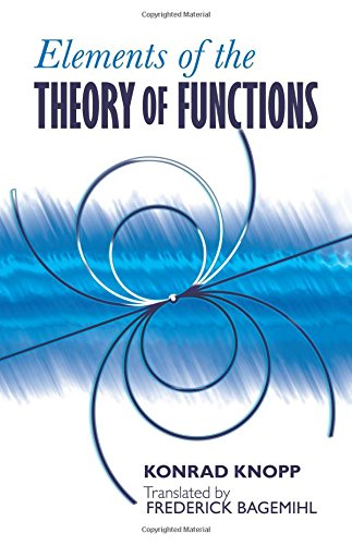 9780486601540: Elements of the Theory of Functions