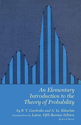 9780486601557: An Elementary Introduction to the Theory of Probability (Dover Books on Mathematics)