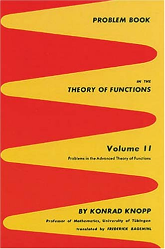 9780486601595: Problem Book in the Theory of Functions, Volume II (Problems in the Advanced Theory of Functions)