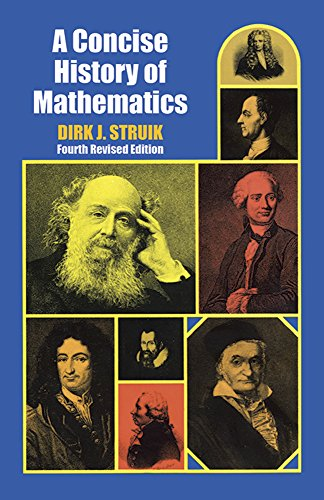 9780486602554: A Concise History of Mathematics: Fourth Revised Edition (Dover Books on Mathematics)