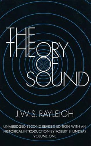 9780486602929: The Theory of Sound, Volume One: Unabridged Second Revised Edition