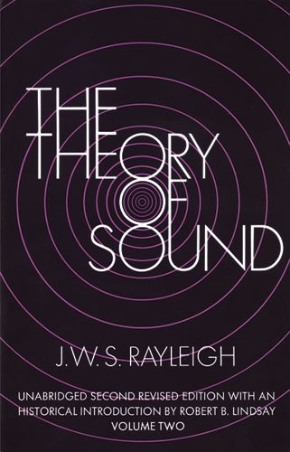 9780486602936: The Theory of Sound, Volume Two (Dover Classics of Science & Mathematics)