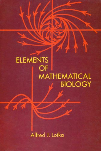 9780486603469: Elements of Mathematical Biology