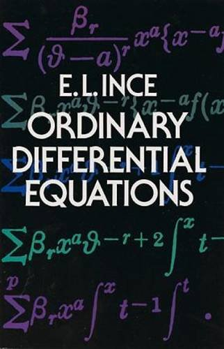 9780486603490: Ordinary Differential Equations (Dover Books on Mathematics)