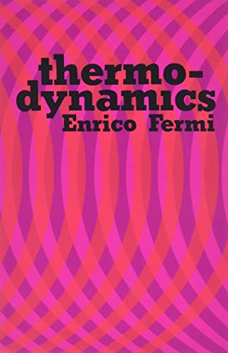 9780486603612: Thermodynamics (Dover Books on Physics)