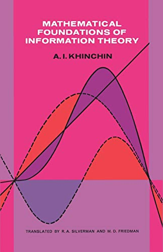 9780486604343: Mathematical Foundations of Information Theory (Dover Books on Mathematics)