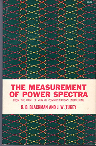 9780486605074: Measurement of Power Spectra from the Point of Vie