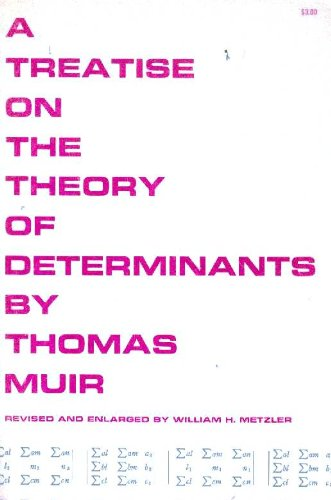 9780486606705: Treatise on the Theory of Determinants