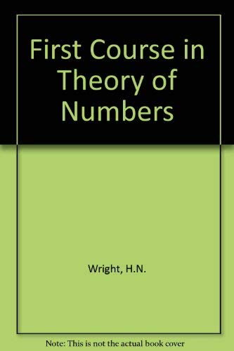 9780486606743: First Course in Theory of Numbers