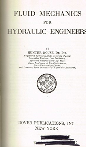 9780486607290: Fluid Mechanics for Hydraulic Engineering
