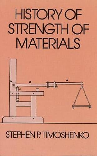 HISTORY OF STRENGTH OF MATERIALS. WITH A: TIMOSHENKO, S.