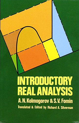 Introductory Real Analysis (Dover Books on Mathematics): Kolmogorov, A. N.