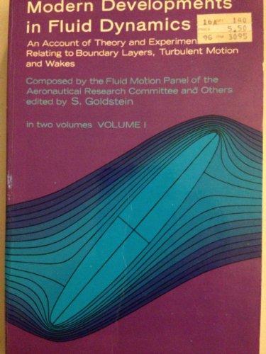 9780486613574: Modern Developments in Fluid Dynamics, Vol. 1