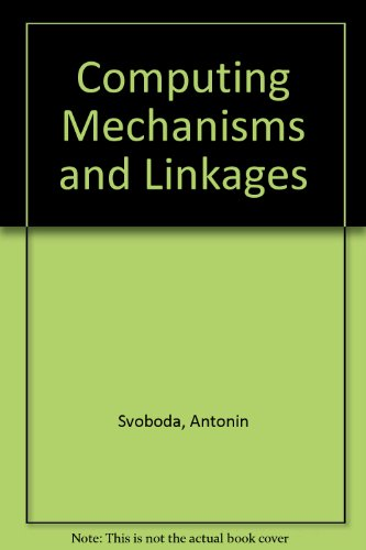9780486614045: Computing Mechanisms and Linkages