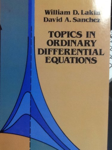 Topics in Ordinary Differential Equations