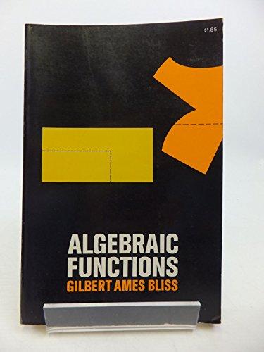 9780486616650: Algebraic Functions