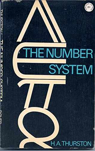 9780486618487: The Number System (Dover Books on Mathematics)