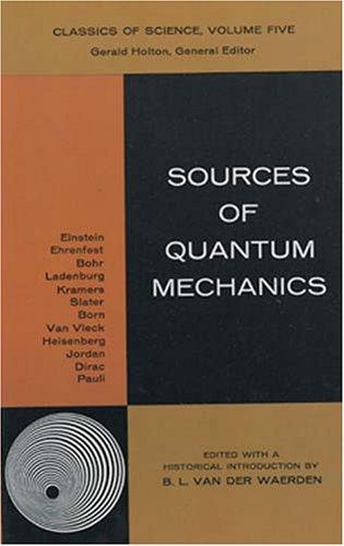 9780486618814: Sources of Quantum Mechanics (Dover Albums)