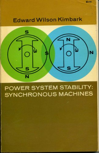 9780486618852: Power System Stability Synchronous Machines