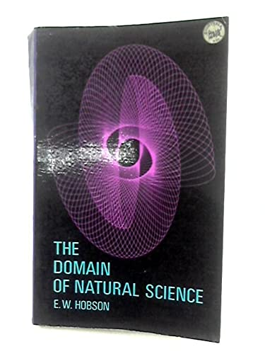 9780486619668: The Domain of Natural Science