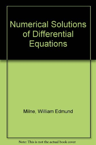 9780486624372: Numerical Solution of Differential Equations