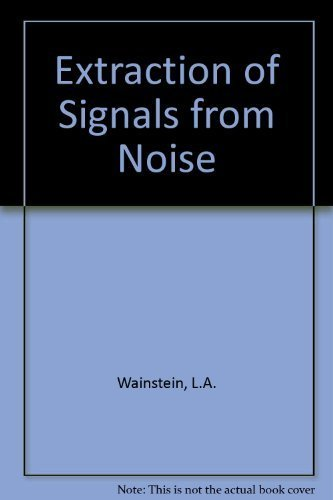 9780486626253: Extraction of Signals from Noise