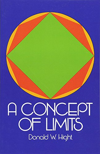 9780486635439: A Concept of Limits (Dover Books on Mathematics)
