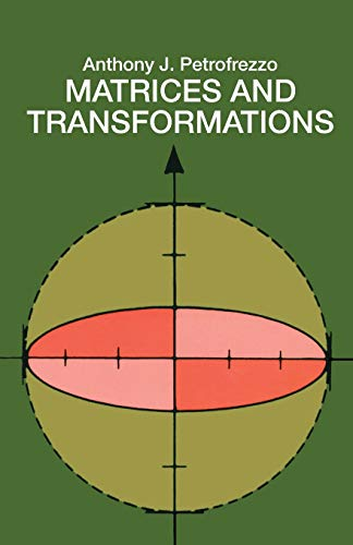 9780486636344: Matrices and Transformations (Dover Books on Mathematics)