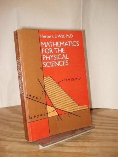 9780486636351: Mathematics for the Physical Sciences