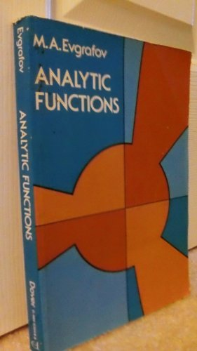 9780486636481: Analytic Functions