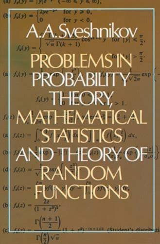 9780486637174: Problems in Probability Theory, Mathematical Statistics and the Theory of Random Functions (Dover Books on Mathematics)
