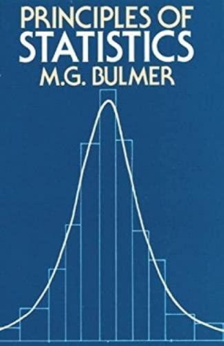 9780486637600: Principles of Statistics